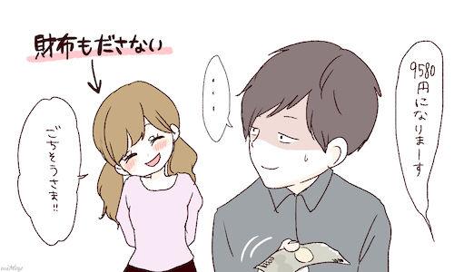 【朗報】男にデート代を負担させるのは『DV』だった!!!!!!