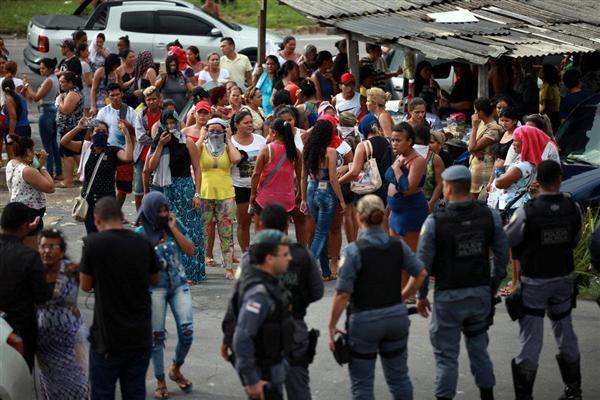 ブラジル 暴動 脱走に関連した画像-03