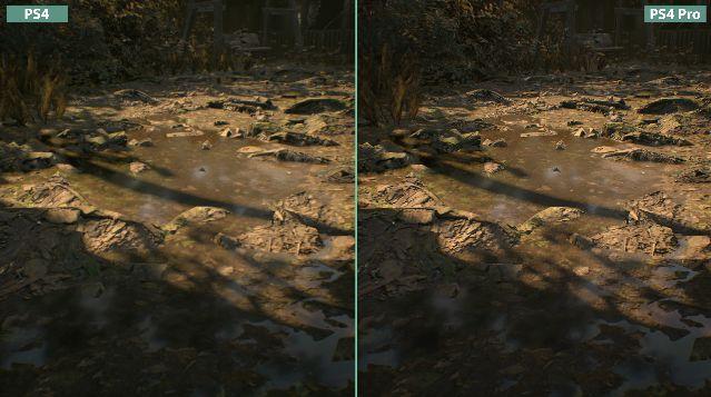 バイオハザード 比較 PS4 PS4Proに関連した画像-08