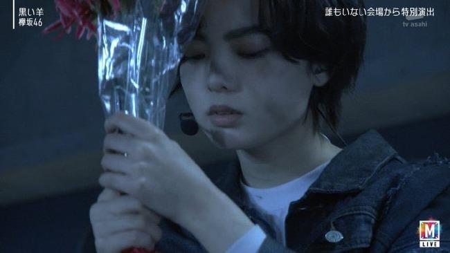 欅坂46 黒い羊 鳥肌に関連した画像-01