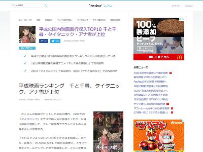 平成 映画興行収入 ランキングに関連した画像-02