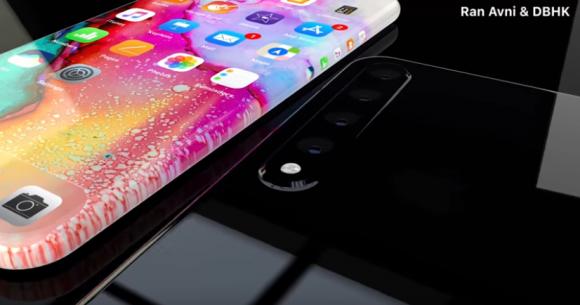 iPhone XI コンセプトイメージ ベゼルレスデザイン 側面ショートカットに関連した画像-04