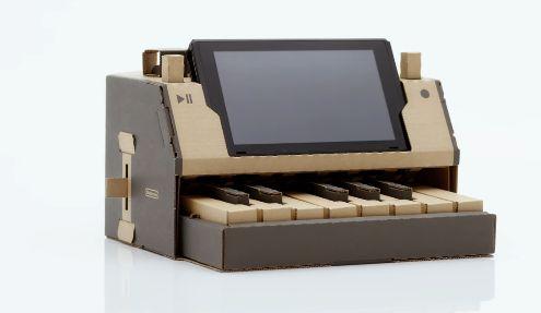 ダンボール ピアノ ニンテンドーラボ 任天堂 KAMI-OTOに関連した画像-01