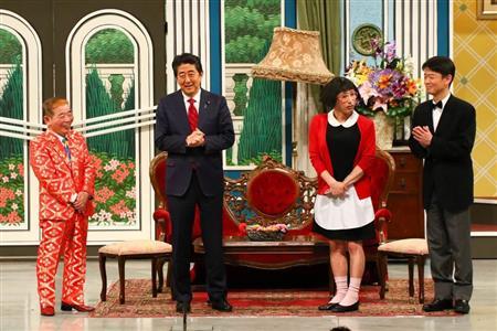 安倍首相 吉本新喜劇 出演に関連した画像-04