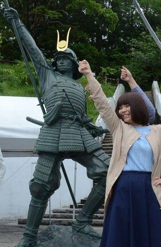 戦国武将 長宗我部元親 イケメン 寄付金 歴女 銅像に関連した画像-03