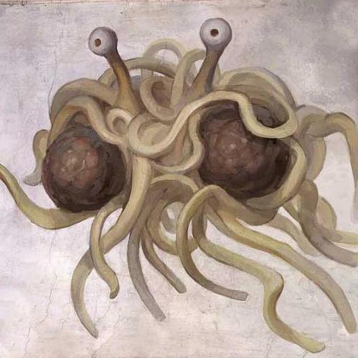 空飛ぶスパゲッティモンスター教に関連した画像-01