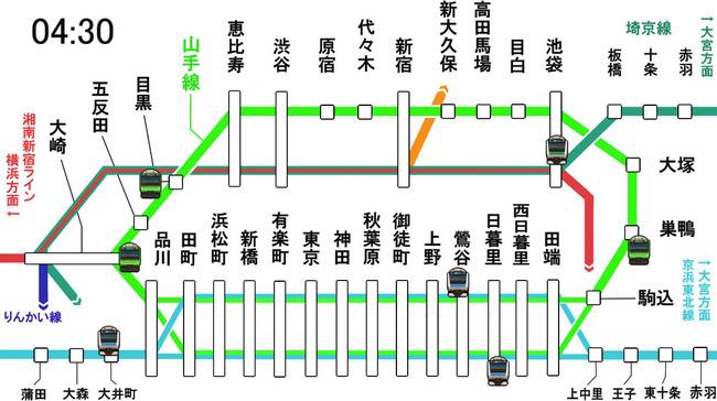 山手線 京浜東北線 電車 通勤 通学に関連した画像-01