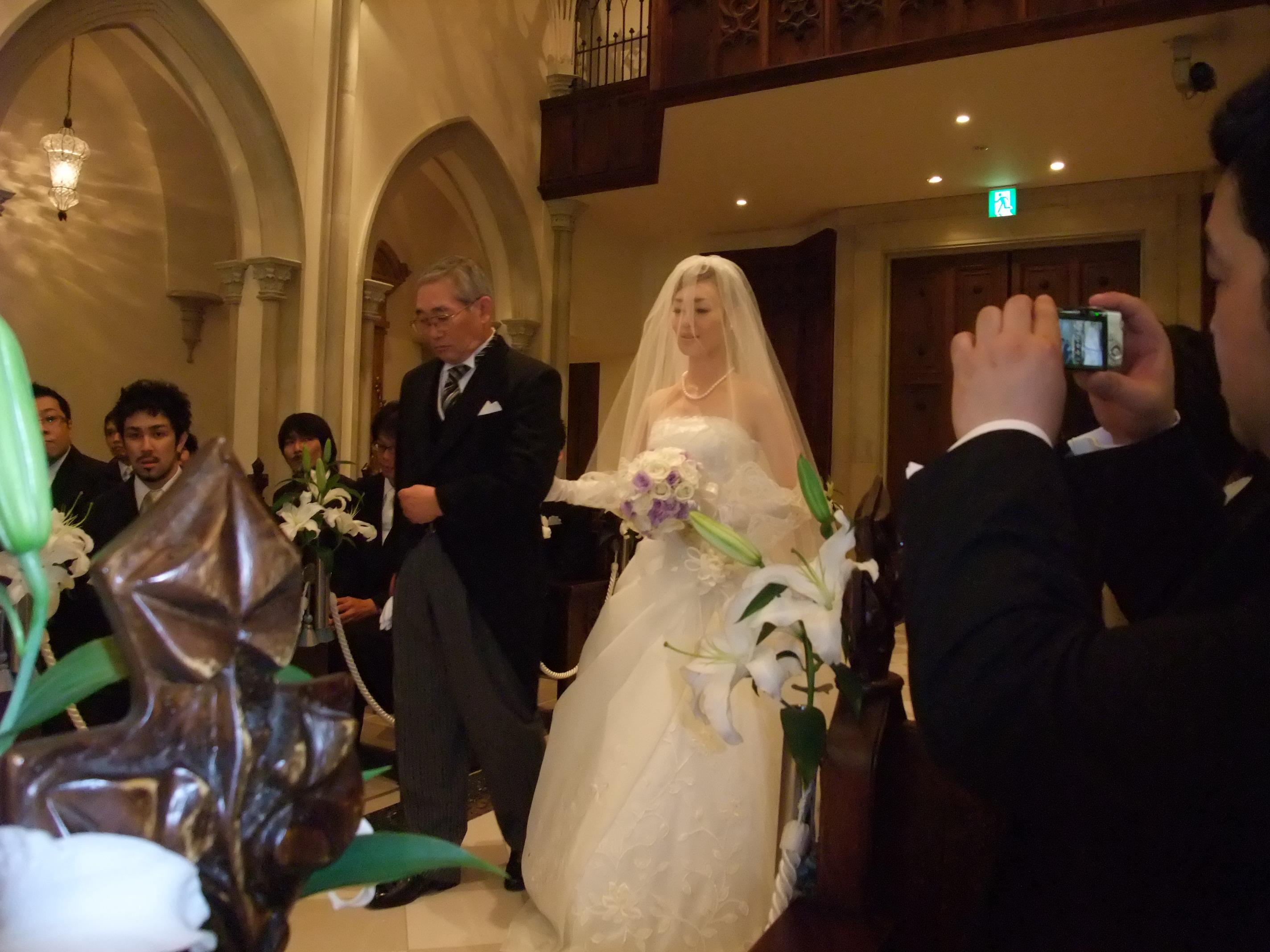 ... グレイス大聖堂での結婚式