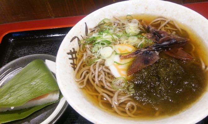 立山そば JR富山駅構内店 -1
