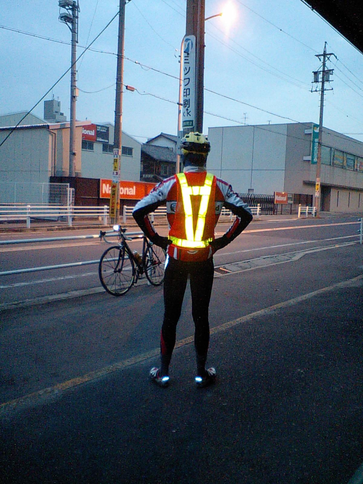 自転車の 反射材 ベスト 自転車 : 愉快な仲間達のブログ:安全 ...