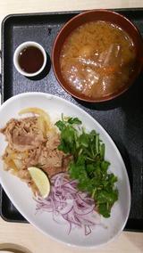 吉野家 パクチー牛&豚汁