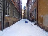 スウェーデン市街 横道
