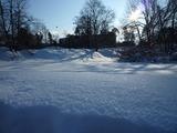 フィンランドの雪