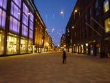フィンランド 夜の街中