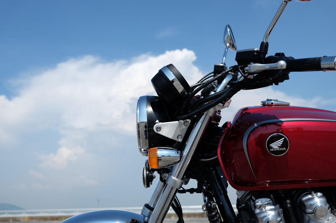遠い空の雲の下で ~オートバイとともに~ イメージ画像