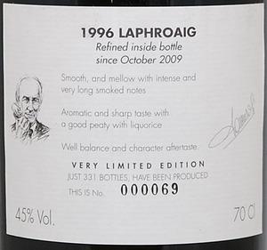 LAPHROAIG 1996  SAMAROLI-2