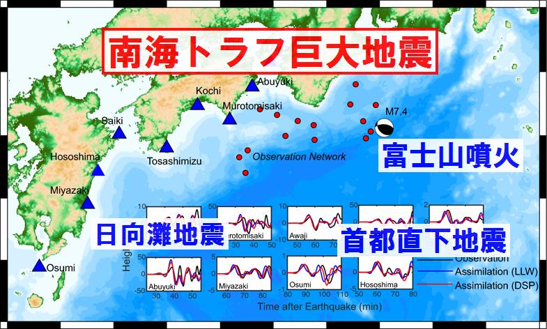 【資料】過去の南海トラフ巨大地震とその前後に起きた大地震のデータ