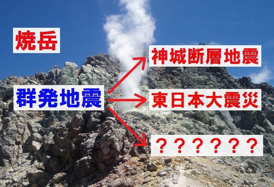 【TOCANA】焼岳で地震増加は「東日本大震災」と同パターン?満月トリガーの地震に注意