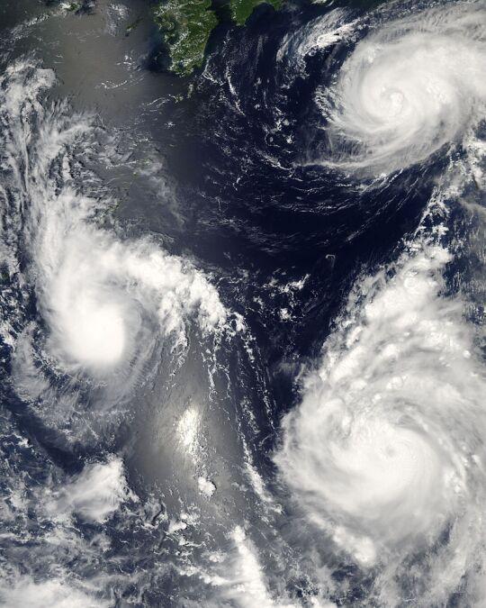 【気候変動】統計開始以来、初めて「台風」が発生しない7月が確定