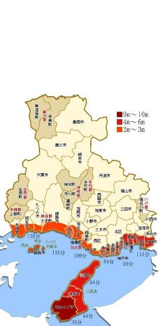 【2019年】兵庫県の南海トラフ巨大地震被害想定