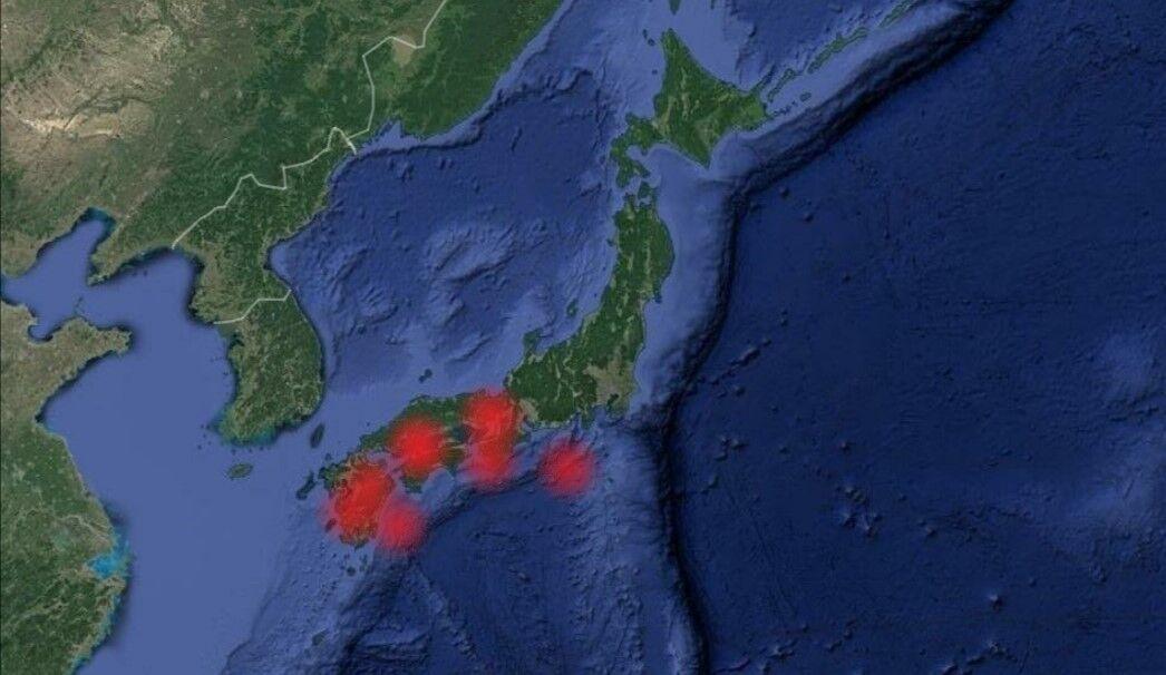 相次ぐ西日本の地震活動について。「南海トラフの前兆?」「過去の慶長伏見地震前の状況と似ている?」
