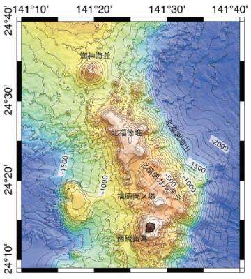 【マグマ】伊豆諸島・ベヨネース列岩に続き、小笠原の海底火山でも「変色した水域」が出現…火山活動が活発化