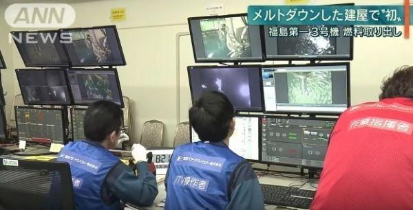 福島第1原発3号機で「核燃料」取り出し作業が一時中断になるが、その後再開へ