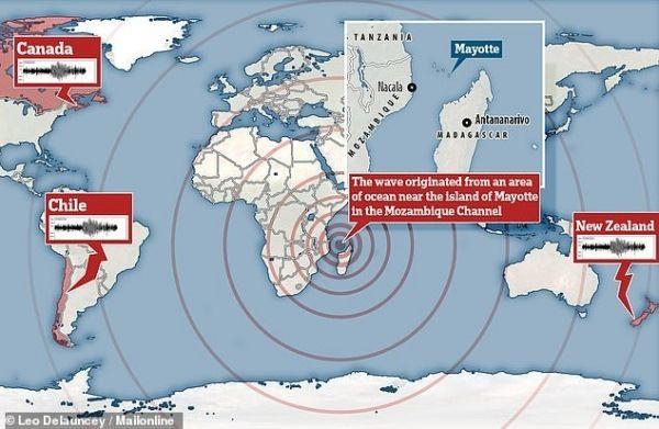 【原因不明】11月11日に「謎の地震」が世界中を駆け巡っていた…アフリカ東沖で発生し20分以上も続き、ハワイにまで届いていたが誰も気づかず