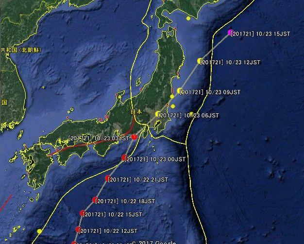 【台風】大型台風通過後に大きな地震が起きる確率が高くなる?