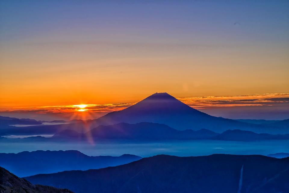 【地震・噴火】2/13 14:39 長野県南部M4.2~過去の富士山・浅間山噴火と大地震の関係