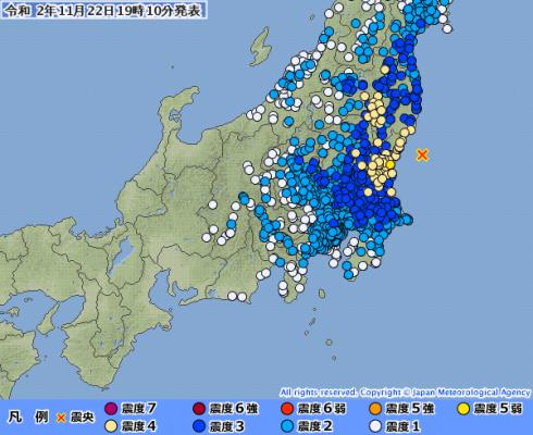 【震度5弱】茨城であった22日の地震って来ると思ってたやつ多いやろ?