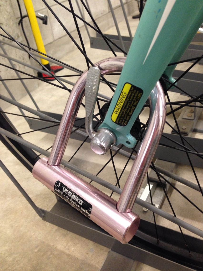 自転車 鍵 自転車 鍵 チェーン 付け方 : は、たとえ短時間でも必ず鍵 ...
