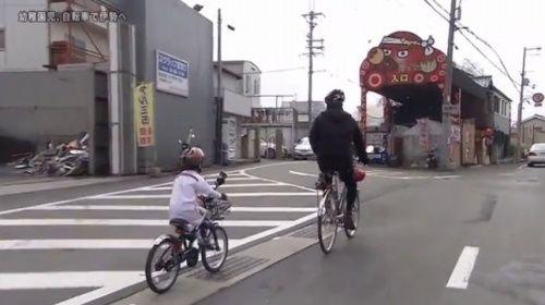 ... 自転車で伊勢まで162kmを走る