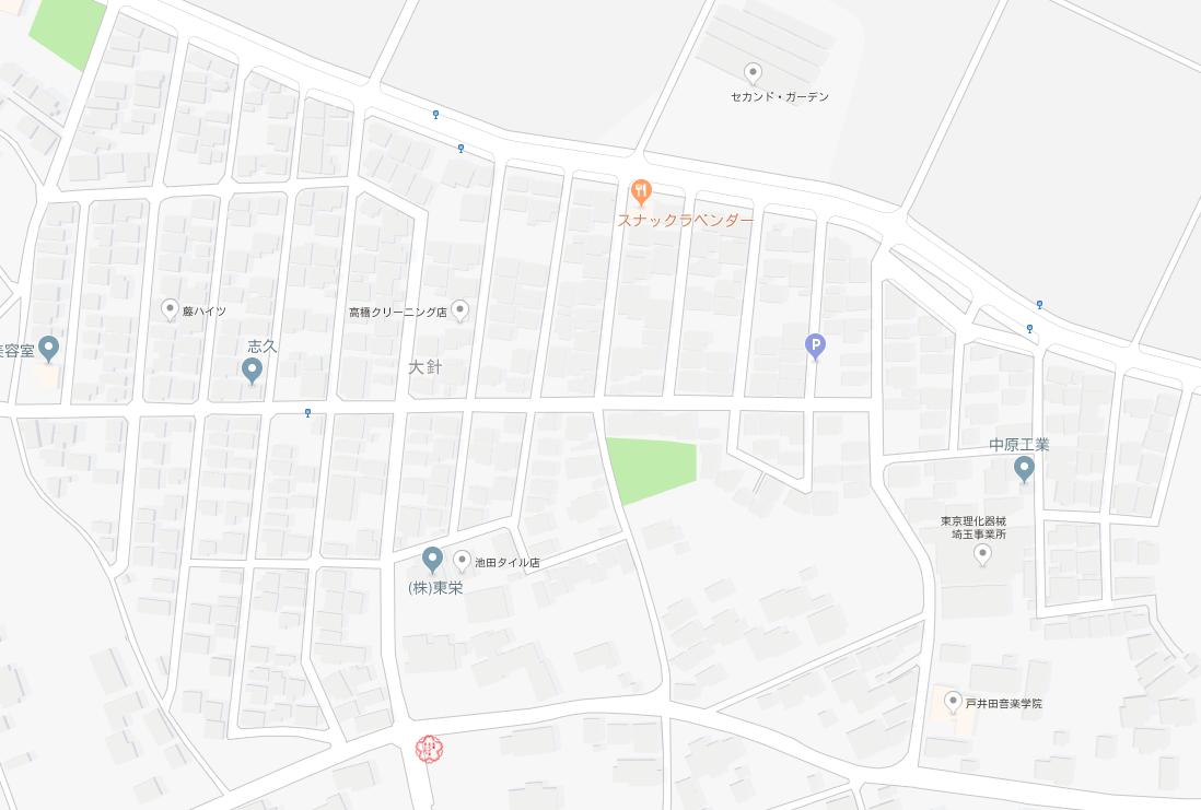 伊奈町 : 路上観察で発見!埼玉県のナイス物件