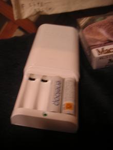 UGさんからのプレゼント@電池&充電器