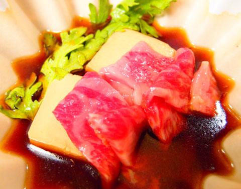 黒毛和牛肉豆腐480