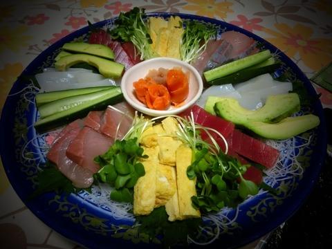 手巻き寿司(≧∇≦)うれしいな〜(笑)