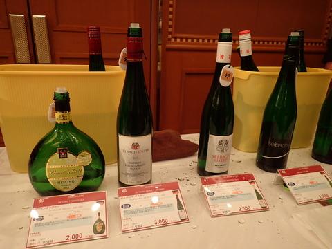 リースリングが好き・・・本日はワインの試飲会(^^)♪