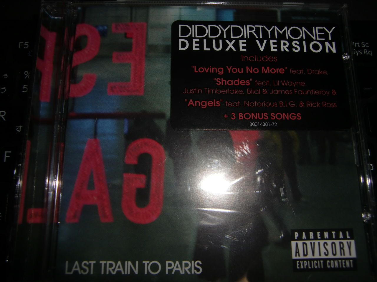 diddy dirty money last train to paris deluxe edition album