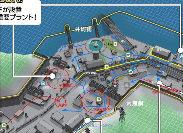 第3採掘島MAP_BC_東側ライン