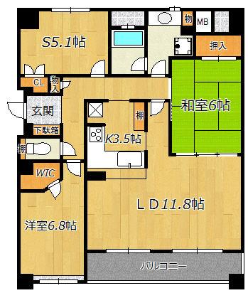 塚本ガーデンハウス5階