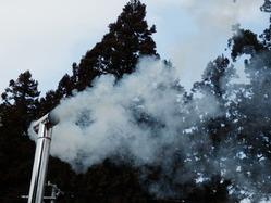 煙突からの煙