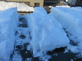 屋根の雪1