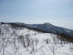 焼枯と駒ヶ岳