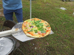 3ピザ焼き