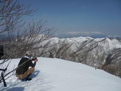 駒ヶ岳頂上(昼食)