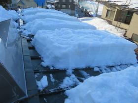 屋根の雪4