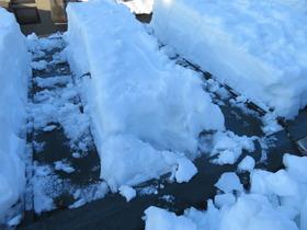 屋根の雪3