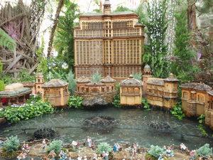 庭園の中のベラージオ�