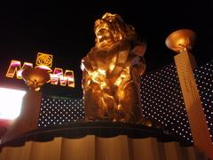 MGMライオン像2